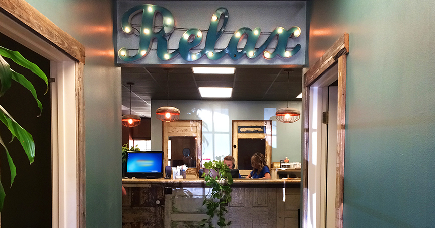 Relax at the Dripping Springs, TX Office of Family First Chiropractic